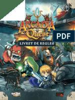 Arcadia Quest Livret de regles