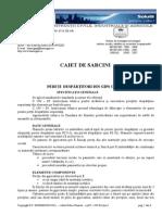 Caiet de Sarcini Arhitectura Pereti Gipscarton