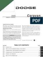 2008 Caravan OM 4e