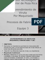 Desprendimiento de Viruta Por Maquinado.pptx