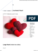 Free Pattern_ Crocheted Heart _ Toma Creations