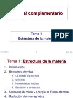 1 - Estructura de La Materia