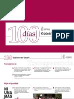 100 Dias Gobierno de Getafe
