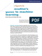 An Executive's Guide to Machine Learning
