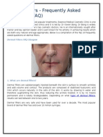 Dermal Fillers - Frequently Asked Questions (FAQ)