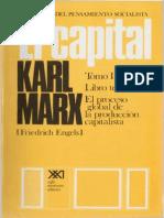 Karl Marx, El Capital. Tomo III. El Proceso Global de La Producción Capitalista. Vol. 6