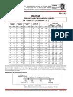 TD11-02 Selección Juntas de Expansión MWA y MFA - (Macoga)