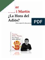 X. Sala i Martín - La Hora Del Adiós 87(135)