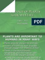 2011 Plant Importance 2