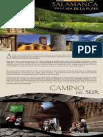Salamanca. Sigue Las Huellas via de La Plata_ Caminos a Santiago