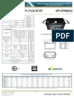 Unicoba DS UP12700(G)