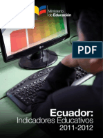 Indicadores Educativos 10-2013 DNAIE