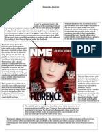Magazin Analysis