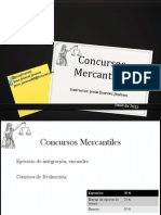 Concursos Mercantiles