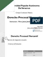 Der Procesal Mercantil Profesor Jesus