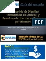 OVT Guia Del Usuario - Presentacion de Planillas Trimestrales