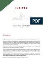 INDITEX Overview