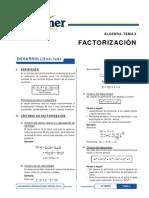 x s3 Factorización