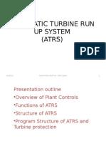 Automatic Turbine Run Up System