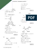 Solucionario - Guía de Ciencias - Geometría Analítica