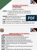 Convergencia de Normas Informacion Financiera