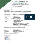 Permohonan Shipment Analisis Anindia