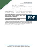 Propuesta de Trabajo Para Servicio Social Profesional