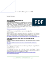 Boletín de Noticias KLR 23SEP2015