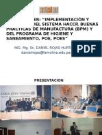 Presentacion, Buenas Practicas de Manufactura y Programas p