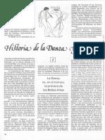 Historia de La Danza y El Ballet