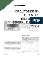 Circuitos de FI y AFT en Los Televisores General Electric y RCA