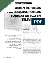 Solución de Fallas Provocadas Por Las Bobinas de VCO en Televisores