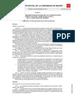 Reglamento competiciones del Deporte Infantil, Serie Básica/Única, para la temporada 2015-2016 (Comunidad de Madrid)
