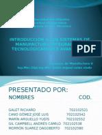 Sistemas Integrados de Manufactura Tecnologícamente Avanzados