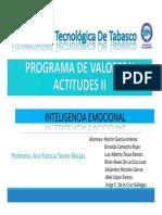 Programa de Valores y Actitudes II