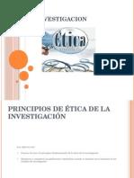 Etica e Investigacion Firmeeeetica