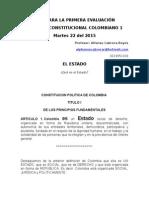 Guia d. Constitucional 1 Primera Evaluación 2 2015