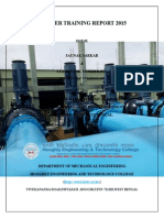 Training Report at PUBLIC HEALTH ENGINEERING (PHE)