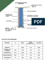 Cálculos básicos Cementación TR´S