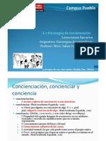 4.1 Estrategias de Concienciación