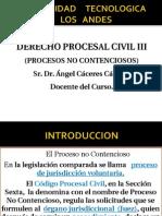 power point PROCESOS NO CONTENCIOSOS-UTEA- ANGEL CACERES.ppt