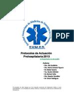 Protocolos de Actuacion Pre Hospitalaria