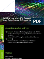 S3516 Build Your Own GPU Research Cluster