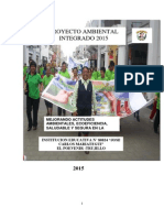 Proyecto  educativo ambiental integrado