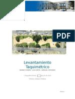 LEVANTAMIENTO TAQUIMETRICO