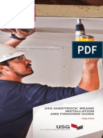 Sheetrock Gypsum Panels Installation Guide en J371