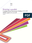 Drawing a Parallel Comparison Between Indian GAAP IFRS and US GAAP