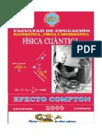 FISICA CUANTICA EFECTO COMPTON - FACULTAD DE EDUCACION MATEMATICA, FISICA e INFORMTICA