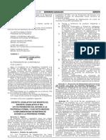 Decreto Legislativo N° 1202