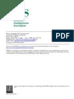 Luckmann - 1996 - Nueva Sociología Del Conocimiento